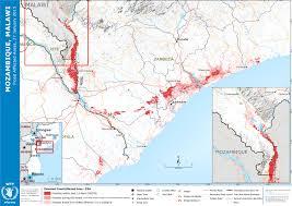 Malawi Map Mozambique Malawi Flood Affected Areas 27 January 2015 Malawi