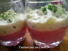 cuisiner la betterave verrine à la mousse de betterave concombre cuisiner avec ses 5