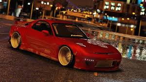 mazda u mazda rx7 rocket bunny add on replace gta5 mods com