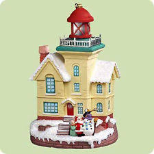 hallmark lighthouse ornaments ebay