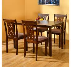 dining table set 4 seater buy sutlej 4 seater dining kit home by nilkamal antique cherry