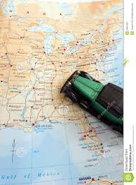 Canada Road Trip Map by Road Trip Through North America Concept Stock Image Image 29841831