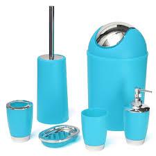 Turquoise Home Decor Accessories by Aqua Bathroom Accessories Blue And White Heavenly Bath Mat Yosoo