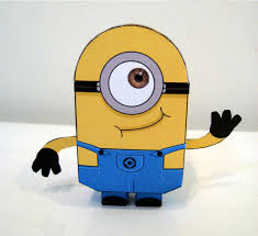 papertoys minions paper toy fr