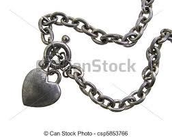 free charm bracelet images Old worn silver heart charm bracelet isolated in white jpg