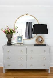 Dressers Bedroom One Room Challenge Master Bedroom Reveal Large Mirror