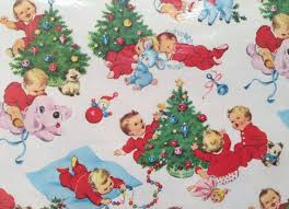 120 best retro xmas wrapping paper images on pinterest vintage
