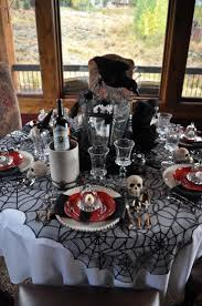 halloween party table decorations 36 best halloween table settings images on pinterest halloween