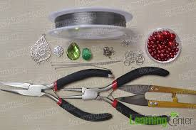 Tools Needed For Jewelry Making - how to make a charming red beaded chain headpiece jewelry for a