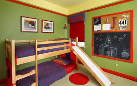 How To Build A Loft Bed With Desk Underneath by Turn The House Into A Playground U2013 Fun Slides Designed For Kids
