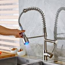 Spring Kitchen Faucet by Compare Prices On Led Kitchen Faucets Online Shopping Buy Low