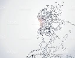 Artificial Intelligence Budget by Lines Connected To Thinkers Symbolizing The Meaning Of Artificial