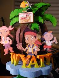 Pirate Cake Decorations Jake And The Neverland Pirates Cake Baking Things