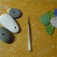 How To Make Jewelry From Sea Glass - how to drill sea glass the beading gem u0027s journal jewelry