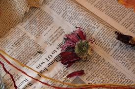 Drying Flowers In Books - diy wedding flower preservation and pressing