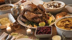 has thanksgiving dinner with who accidentally