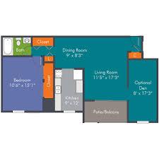 1 bedroom floor plans apartment homes in roanoke va
