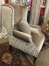 Custom Upholstered Dining Chairs Related Image Home Decor Pinterest Wingback Chairs