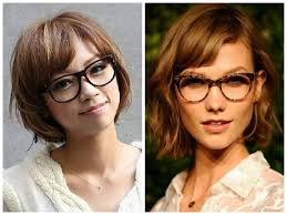 Short Hairstyles With Glasses And Bangs | the best short hairstyles to wear with glasses hair world magazine