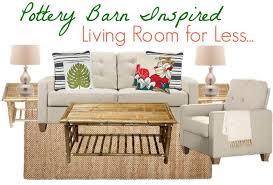 pottery barn inspired living room for less saving dollars u0026 sense