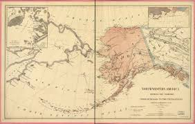 Alaska Route Map by Alaska Boroughs Map