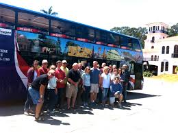 double decker party bus san jose city tour in costa rica vip city bus