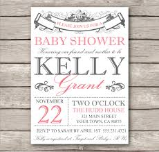 vintage baby shower invitations baby shower invitation templates for word ba shower invitation