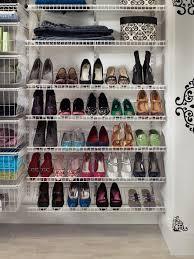 shoe rack ideas closet home design
