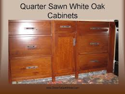 quarter sawn white oak cabinets u2013 early american stain down to