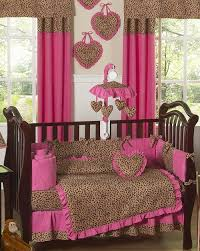 Brown And Pink Crib Bedding Cheetah Pink Brown Baby Bedding Set Sweet Jojo Designs