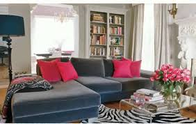 cool grey and blue living room home decor color trends fancy with
