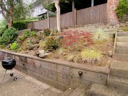 Steep Hill Backyard Ideas Attractive Landscape Ideas For Steep Backyard Hill Steep Terrain