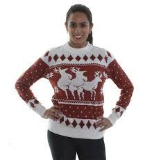 satanic christmas sweaters let you flip bird or goat horns