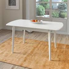 White Wood Dining Table Acme Furniture Dessa Natural Dining Table 72130 The Home Depot