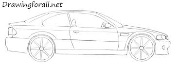 how to draw a car for beginners drawingforall net