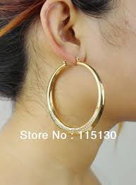 gold hoop earings 2018 vintage jewelry big gold hoop earrings for women style