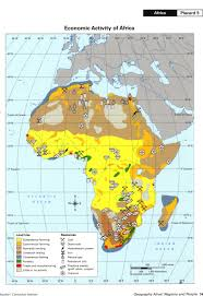 Map Of Africa Physical by Bayes