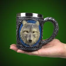 Creative Coffee Mugs Wolf Coffee Mugs Luxury Beer Tankard Gifts Unique Creative