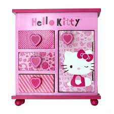Hello Kitty Bedroom In A Box Hello Kitty Chest Of 5 Drawers Najarian Furniture Toys
