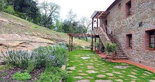 Wonderful Gardens Casa Genziana C Self Catering Apartment In Rigomagno Tuscany Italy