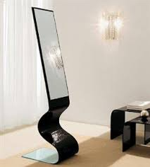 stand alone mirror with lights european furniture modern italian furniture chicago