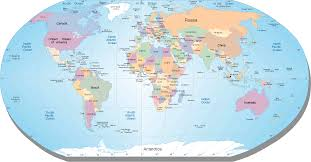 map world oceans map of world oceans roundtripticket me