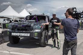 baja truck toyota signs legendary racer bj baldwin