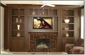 entertainment center around fireplace decoration ideas collection
