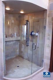 Glass Shower Doors Nashville by Custom Frameless Shower Door For Steam Unit 135