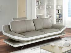 canap cuir gris clair canape cuir de vachette gris pas cher confort et qualité