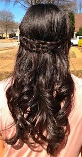 braided curly wedding hairstyle wedding hairstyles ideas back