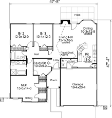 Craftsman Ranch House Plans 164 Best House Plans Images On Pinterest Ranch House Plans