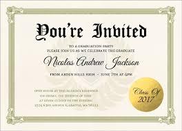 grad party invitations diploma graduation party invitation graduation invitations