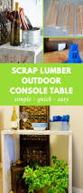 Outdoor Console Table The 25 Best Outdoor Console Table Ideas On Pinterest Porch